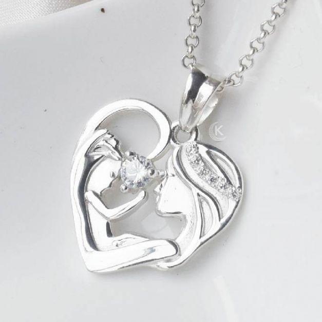 Collar de Plata Amor de Madre