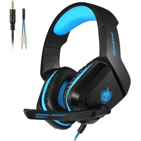 AURICULARES GAMER PHOINIKAS - PS4 PC LAPTOP