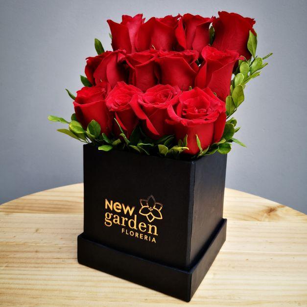 TEMPO 02 - Box de 12 Rosas
