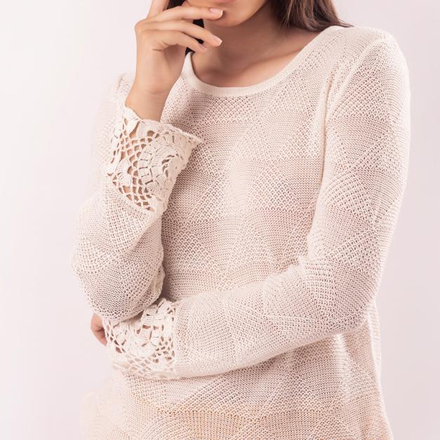 Sweater  Crochet - Lui