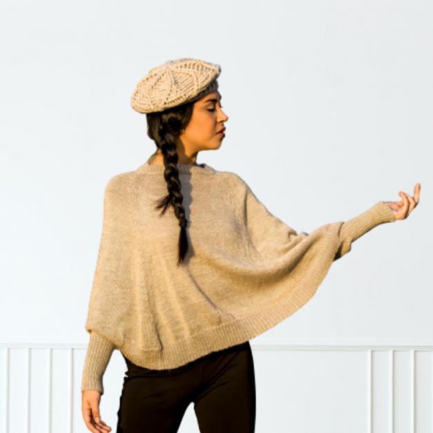 Sweater Capa - Marie
