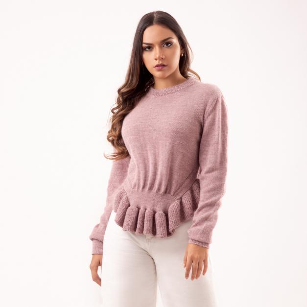 Sweater Fleco Lu