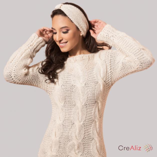 Sweater Cable - Felicita