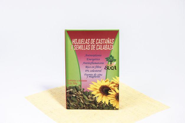 Hojuelas de castañas y semillas de calabaza 200 gr