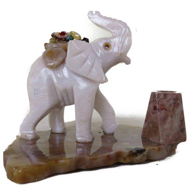 Elefante porta lapicero