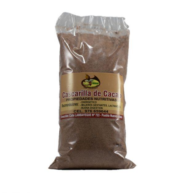 CASCARILLA DE CACAO (COCOA) POR 6 UNIDADES