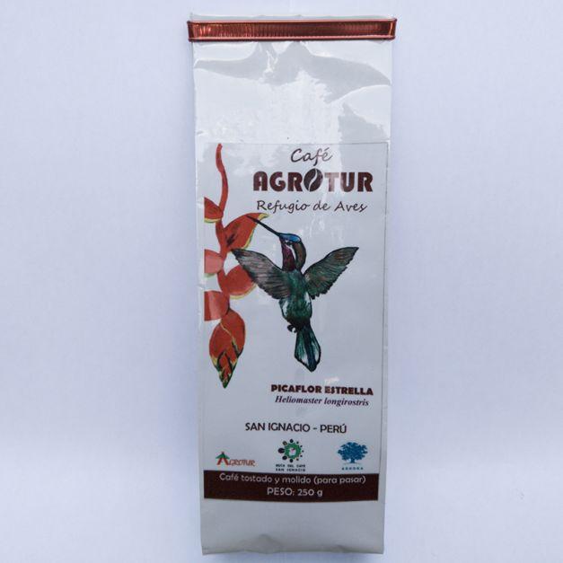 CAFÉ AGROTUR Picaflor Estrella(250 g) x 2 unidades