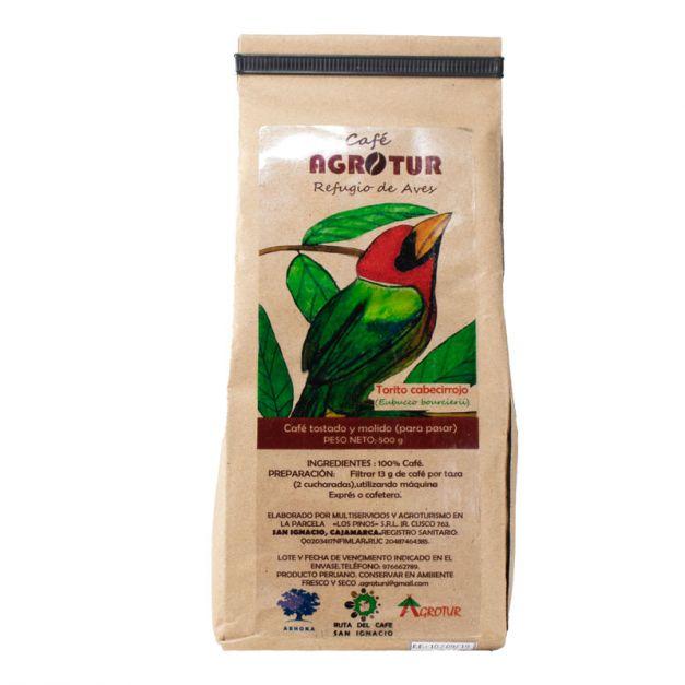 CAFÉ AGROTUR Torito Cabecirrojo (500 g)