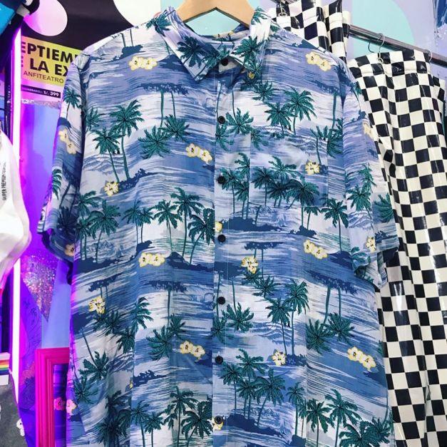 Camisas Palmeras 2 Colores