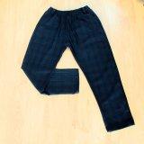Pantalon Tartán Unisex Azul oscuro