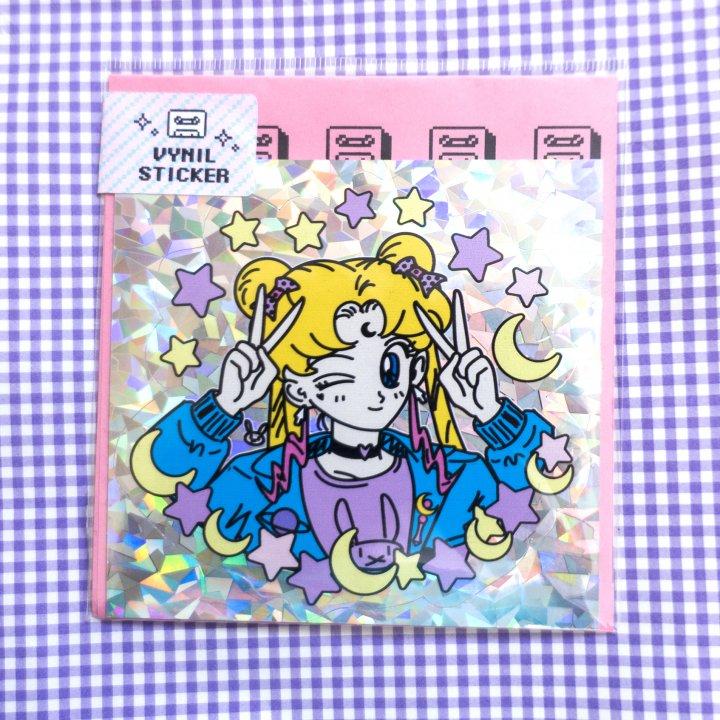 Sticker Serena Holográfico