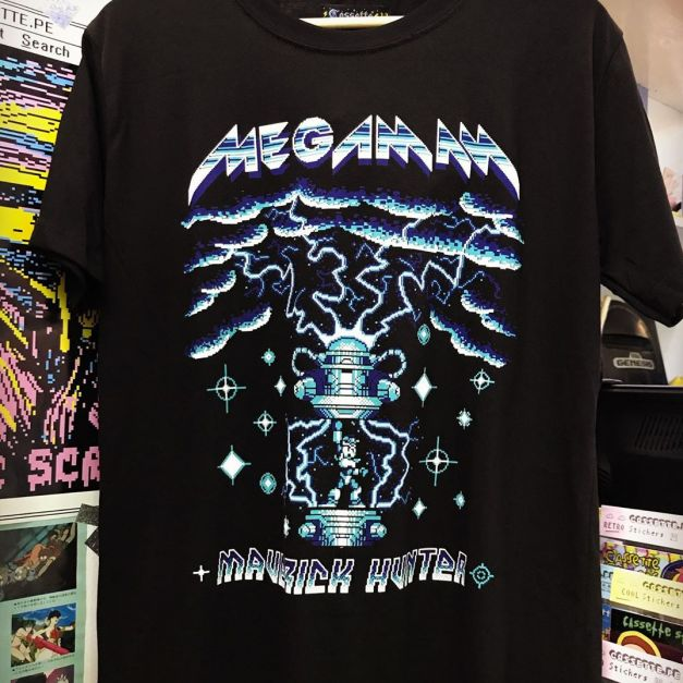 Polo Megaman x Metal
