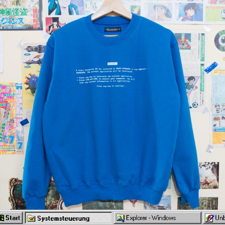 Pantalla Azul Polera