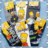 Medias Simpsons Taloneras Grandes