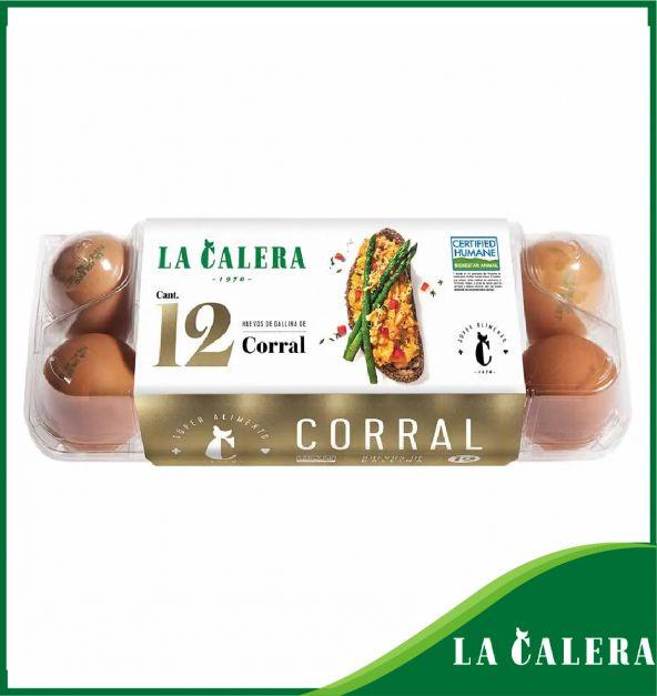 HUEVOS DE CORRAL LA CALERA X 12 UND