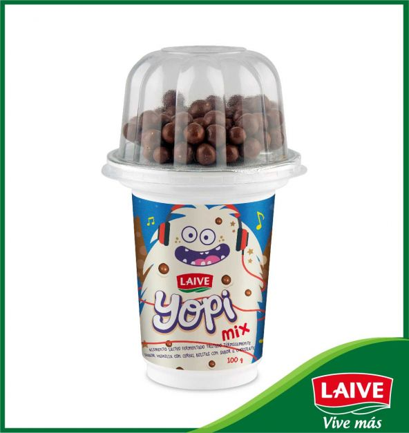 YOPI MIX VAINILLA CHOCOLATE VASO X 100 GR