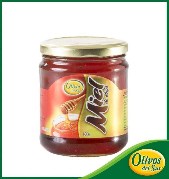 Miel De Abeja Olivos Del Sur Frasco 600 g