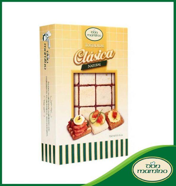 Tostaditas Clásicas Naturales Don Mamino Caja 85 g