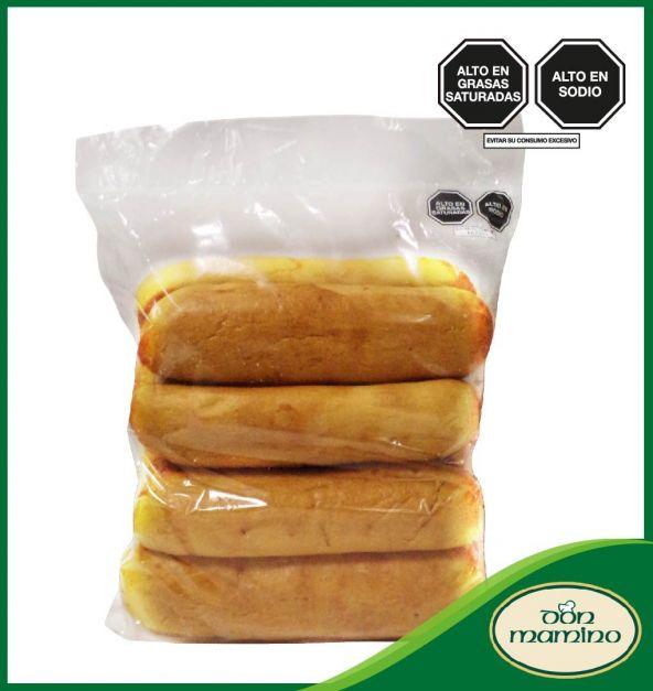 Pan Hot Dog Don Mamino Bolsa  8 Und.