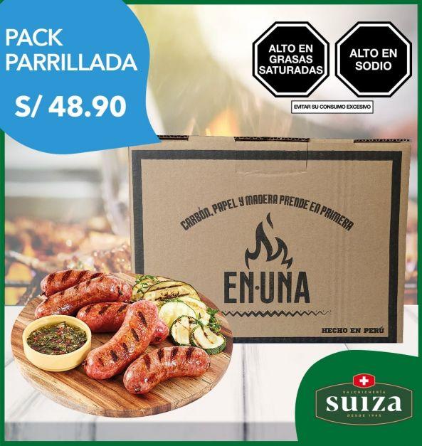 Pack Parrillada: 1 kg Chorizo Parrillero + Carbón