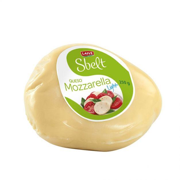 Queso Mozzarella Sbelt Porción 250 g