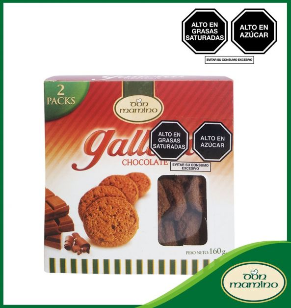 GALLETAS CHOCOLATE DON MAMINO