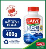 Leche Evaporada Entera Laive Botella 400 g