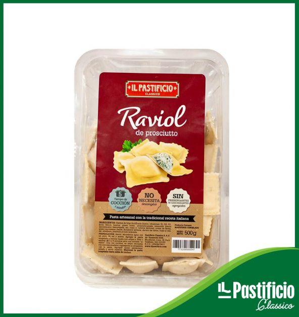 RAVIOL PROSCIUTTO GOURMET IL PASTIFICIO X 450 GR