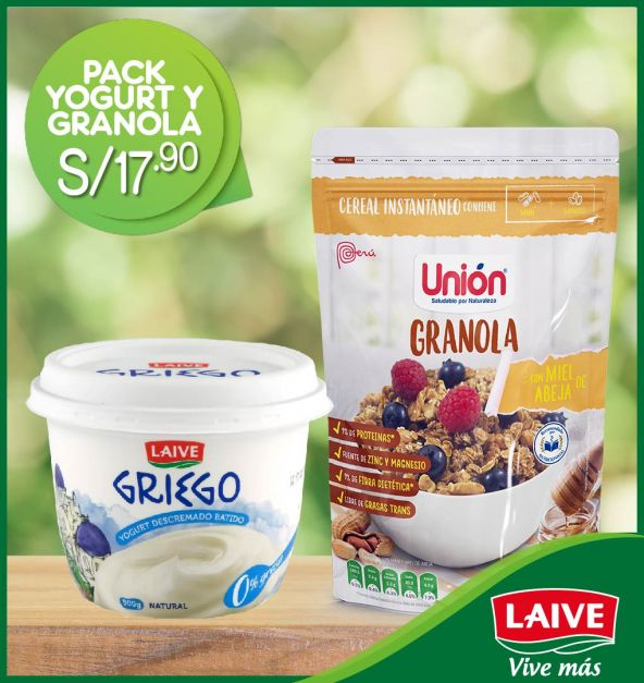 PACK YOGURT + GRANOLA