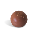 Esfera crujiente de chocolate