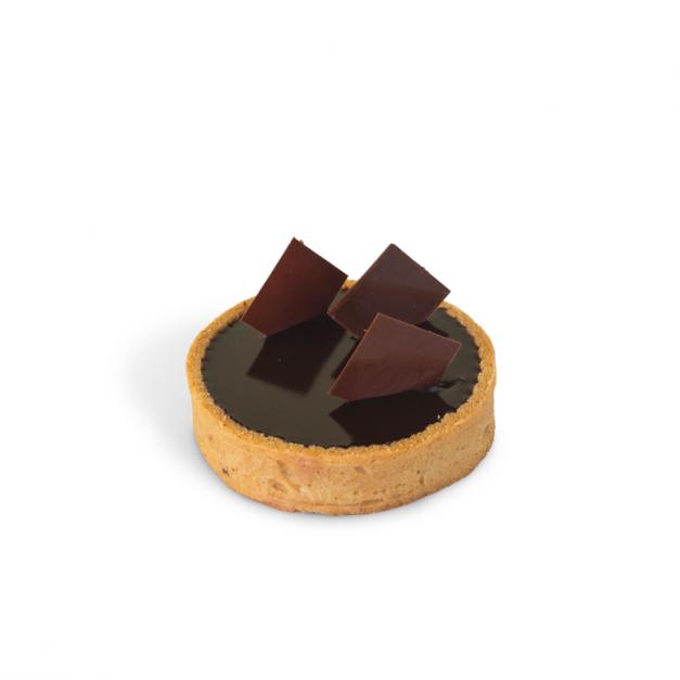 Tartaleta de choco-caramelo