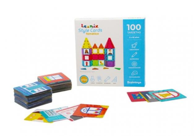 STYE CARDS TEMATICOS IMANIX 100 PZ
