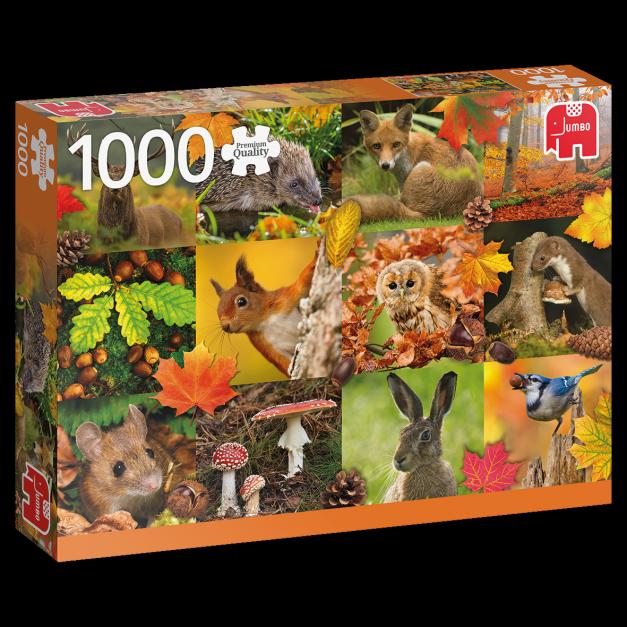 PUZZLE 1000 PZS -  Animals