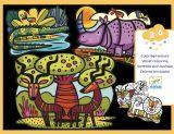 TERCIOPELO PARA COLOREAR - ANIMALES DE SABANA