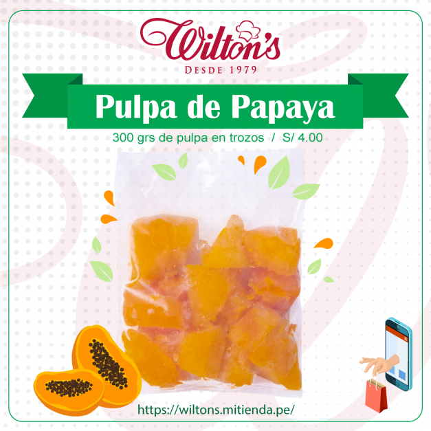 Pulpa de Papaya x 300grs