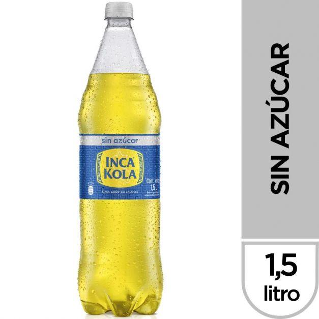 Inca Kola Sin Azúcar 1.5 lt