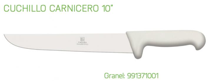 CUCHILLO PROFESIONAL CARNICERO 10