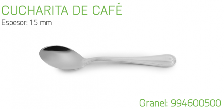 CUCHARITA DE CAFE MODELO 460