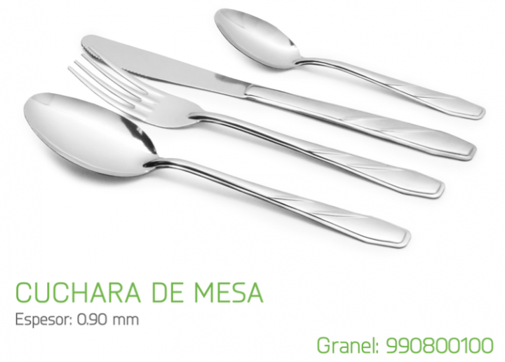 CUCHARA DE MESA MODELO 80