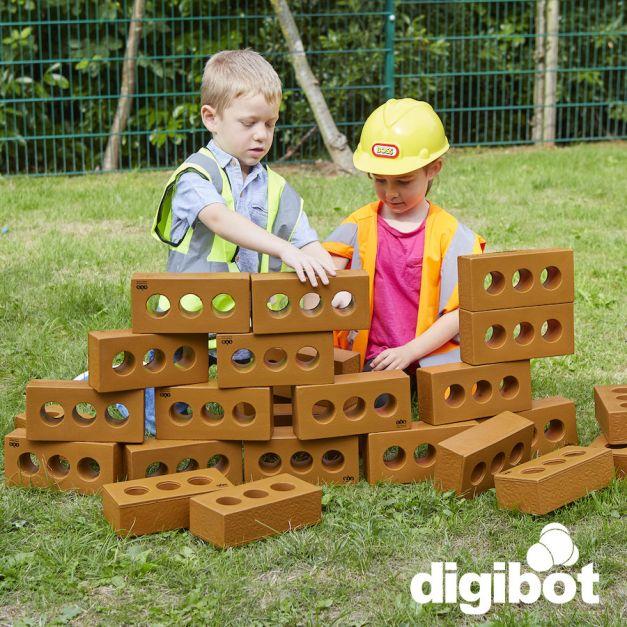 Juego de Roles: Ladrillos para construcción