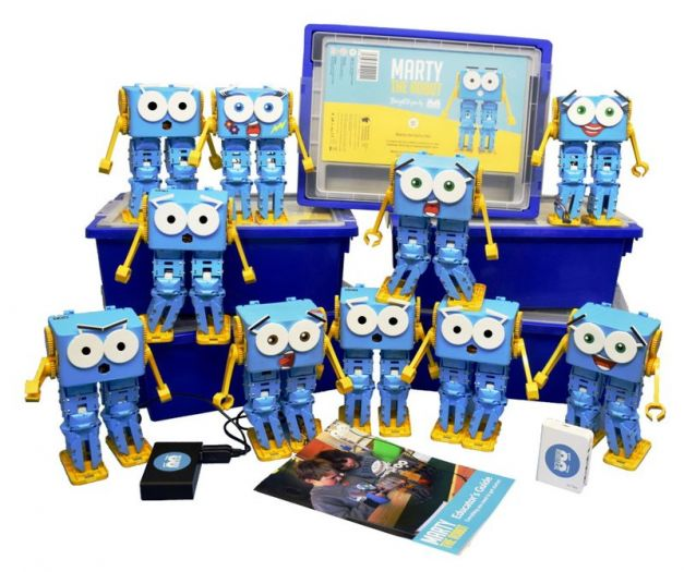 Marty Robot Class Pack
