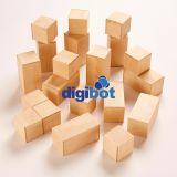 Bloques magnéticos de madera