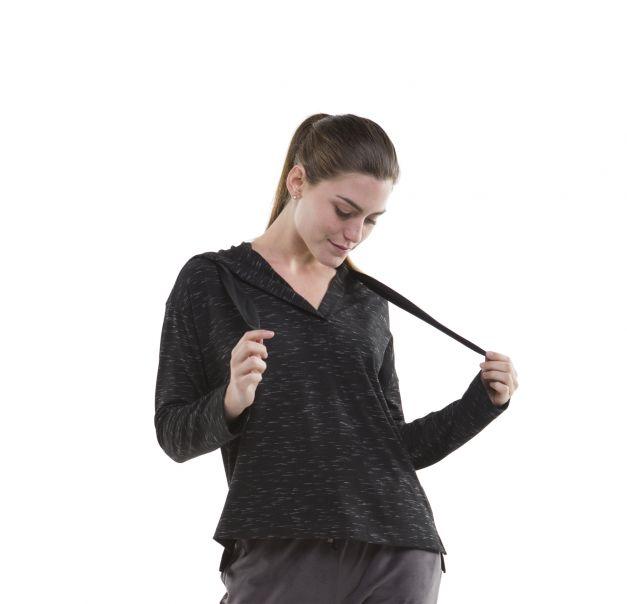 Sweatshirt con capucha