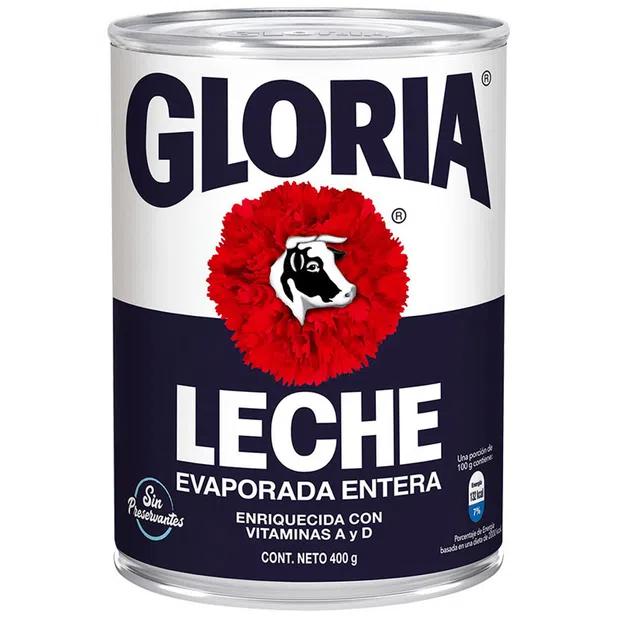 LECHE EVAPORADA GLORIA X 400G