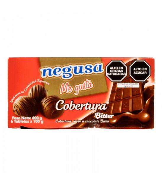 COBERTURA BITTER NEGUSA X 600 GRS