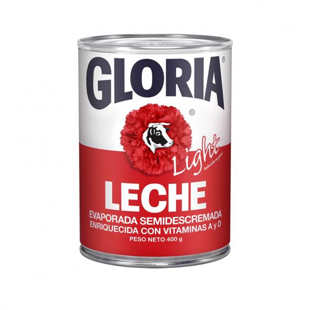 GLORIA LECHE EVAPORADA LIGHT 400GR