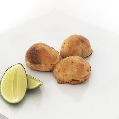 Mini empanadas congeladas de carne x 28 und