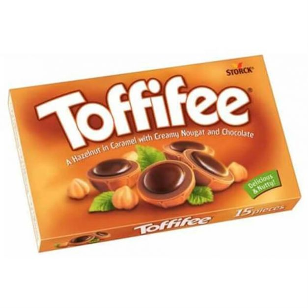 TOFFIFE CARAMEL WITH CREAM AND CHOCOLATE 150 grs