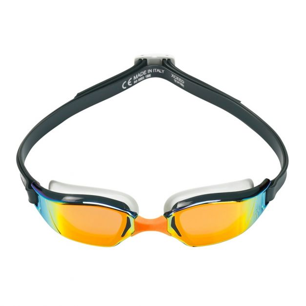 Phelps Lentes de natación XCEED Titanium Mirror