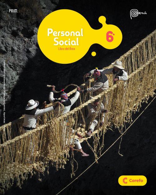 LIBRO DE PERSONAL SOCIAL PRIM 6/A (PACK DE 2) - 2020